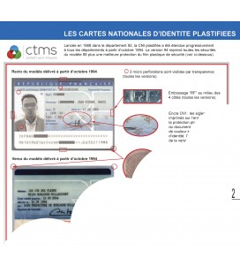 METHODOLOGIE DE CONTROLE DES DOCUMENTS D'IDENTITE FRANCAIS