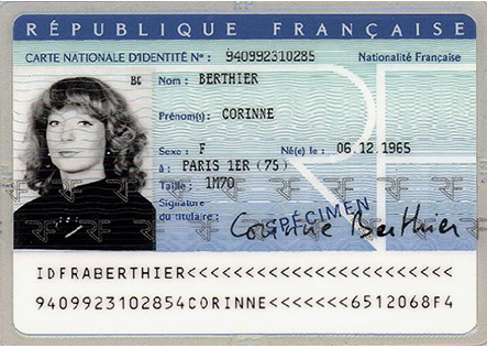 exemple de numéro de carte d identité française Comment déceler une fausse carte d'identité ?   CTMS