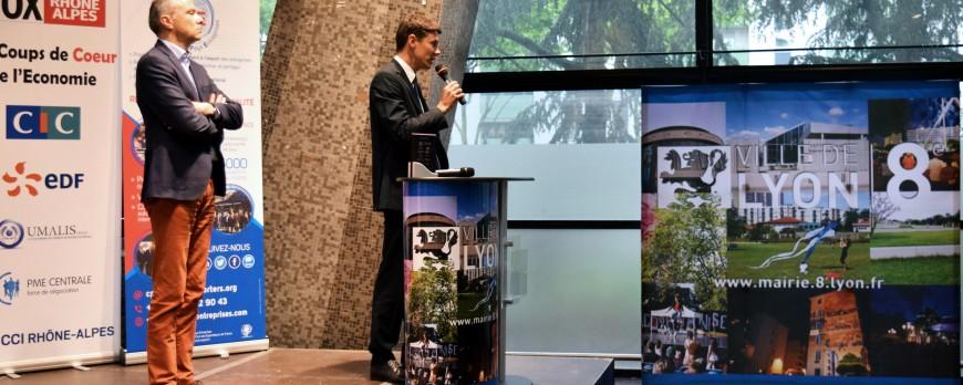 CTMS désigné en tant que « Coup de cœur  de l'éco 2017 du 8e arrondissement de Lyon », dans la catégorie « Innovation »