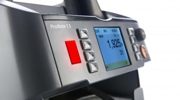 CTMS lance une compteuse de billets innovante, la PRONOTE 1.5