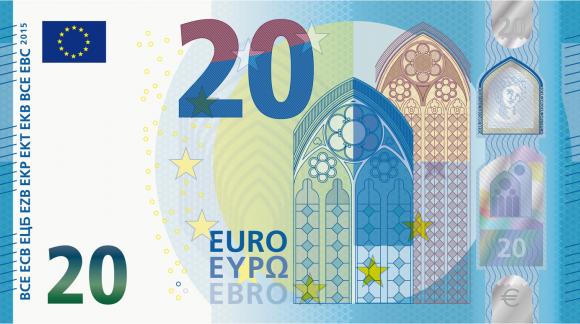 Mise en circulation de nouveaux billets de 20€ par la BCE