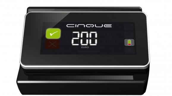 Lancement d'un détecteur de faux billets haut-de-gamme : le CINQUE