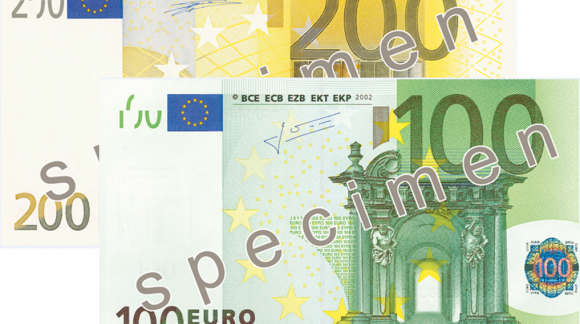 Mise en circulation de nouveaux billets de 100€ et 200€ fin Mai 2019